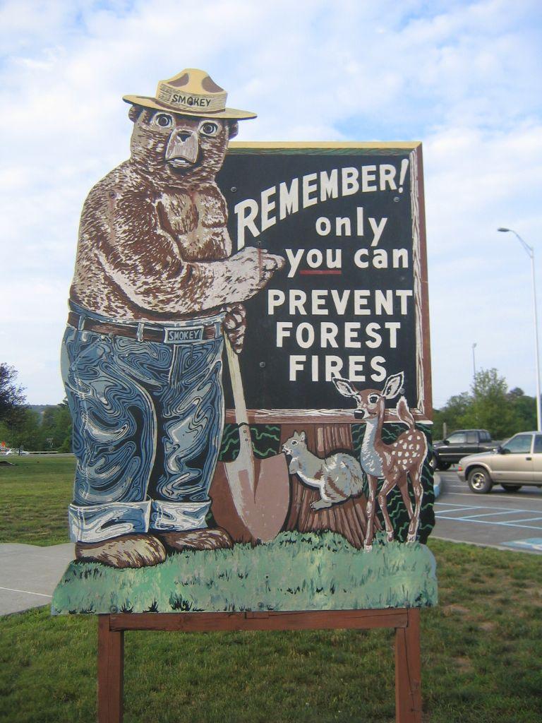 Smokey Bear - Matamoras, PA Rest Area
