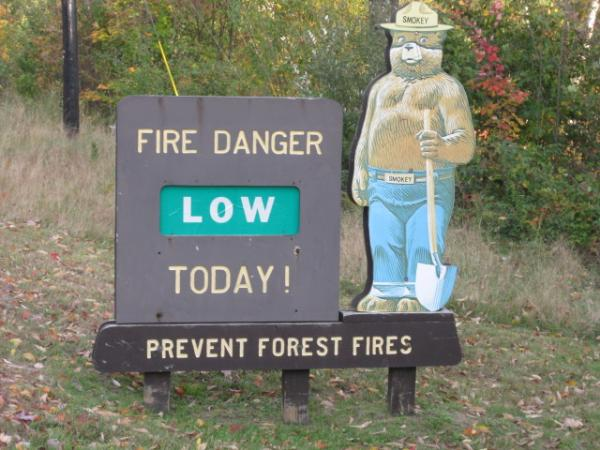 Smokey Bear on Rt. 112- Lincoln, NH