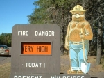 Smokey Bear - Keweenaw County - Michigan UP