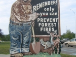 Smokey Bear - Matamoras, PA Rest Area