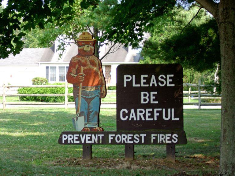 Fort Mott's Smokey - New Jersey