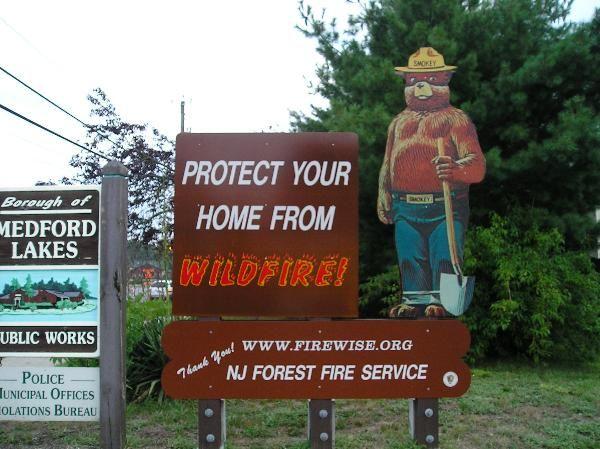 Medford Lakes Fire Department's Smokey Bear - Medford Lakes, NJ