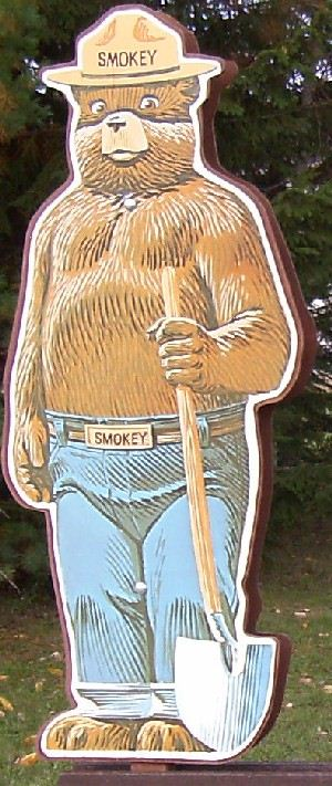 Smokey at Hurley, WI