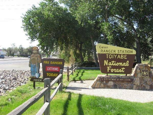 Toiyabe National Forest ranger station - Carson City, NV