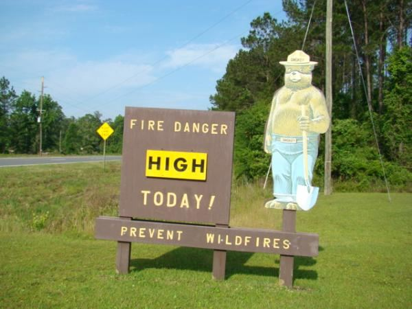 Waverly, Georgia Fire Station